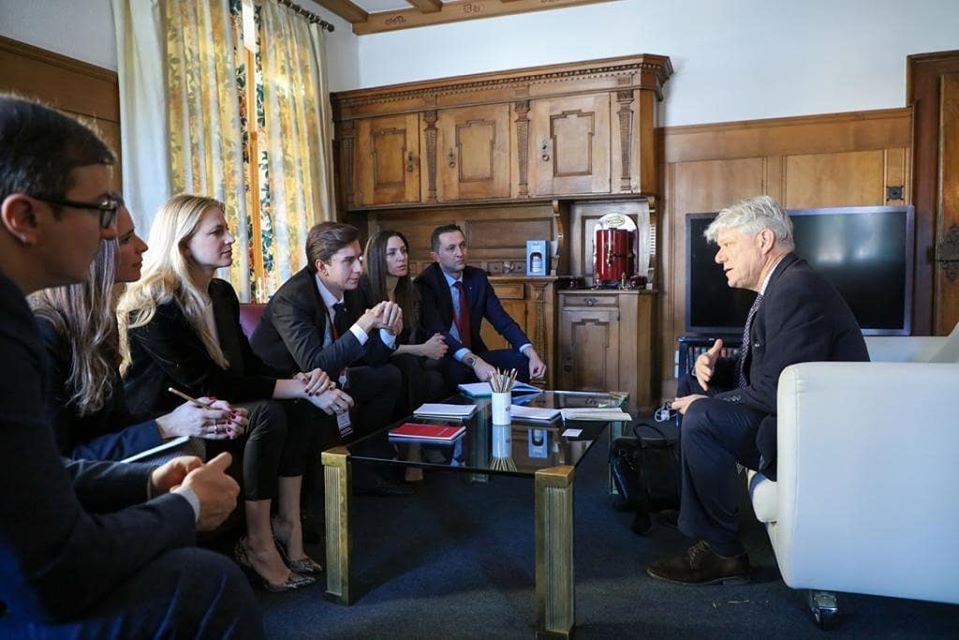 Meeting with 'Under Secretary General' of the United Nations